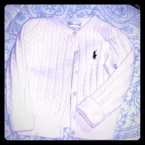 Cream Polo Sweater worn once!